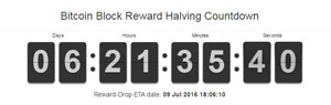 Bitcoin Block Reward Halving